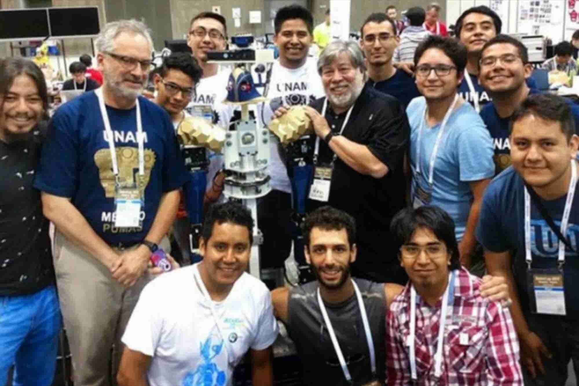 Justina, la robot mexicana de la UNAM que triunfó en Japón