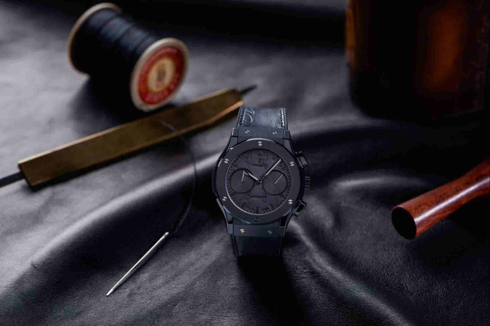 The Executive Selection: Hublot Classic Fusion Chronograph Berluti