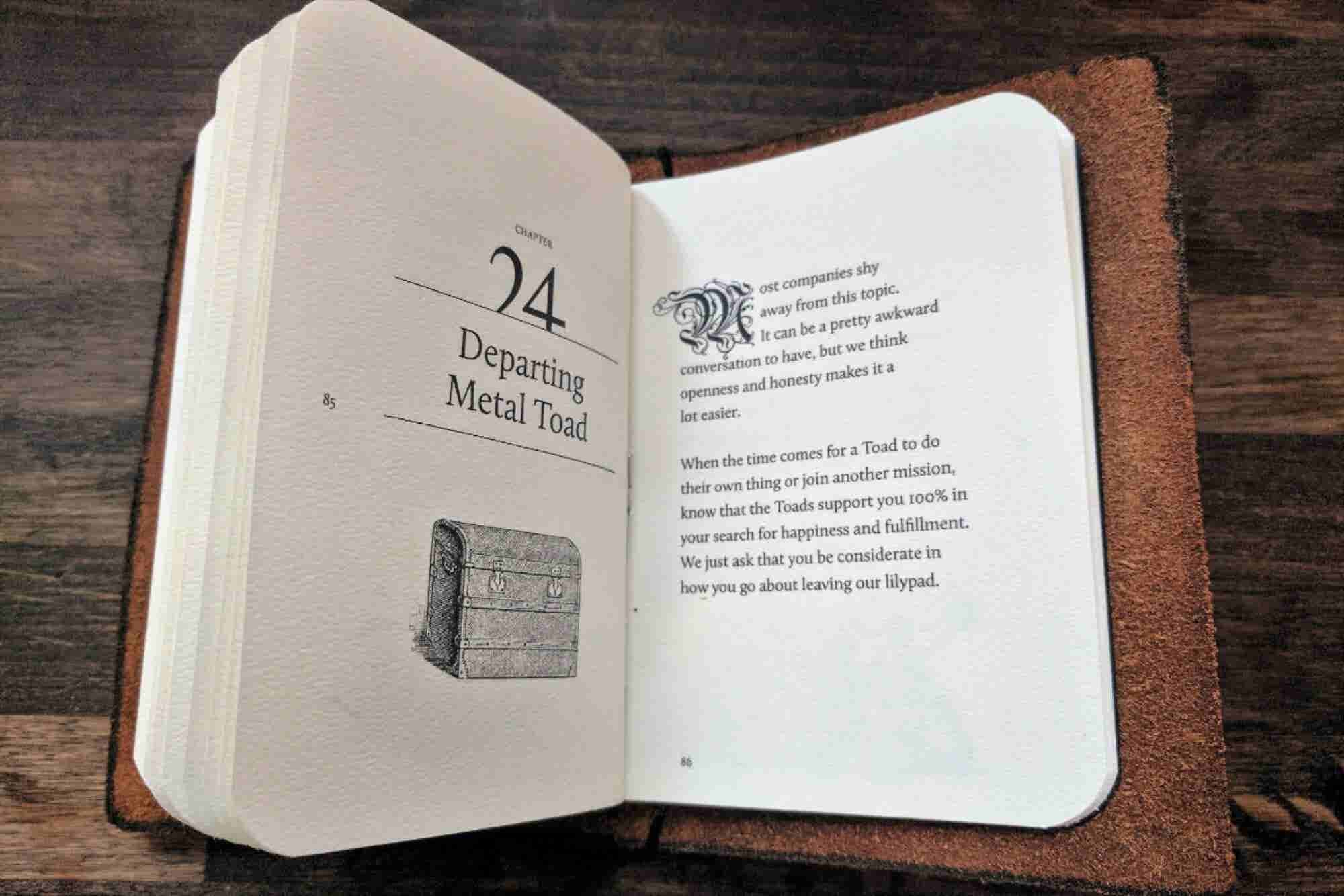 Most Employee Handbooks Are Terrible, So This Company Made a Leather-Bound Journal Inspired by 'Lord of the Rings'