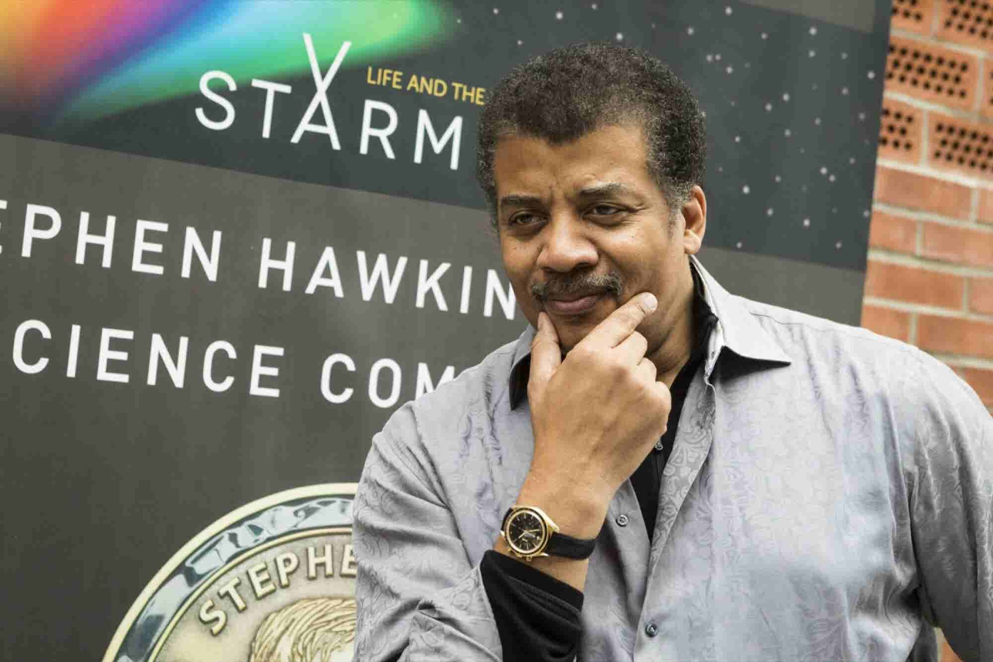 It Must Be Written In the Stars. Neil deGrasse Tyson Says Marijuana Should Be Legal.