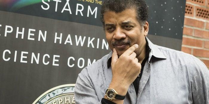 It Must Be Written In the Stars. Neil deGrasse Tyson Says Marijuana Should Be Legal.