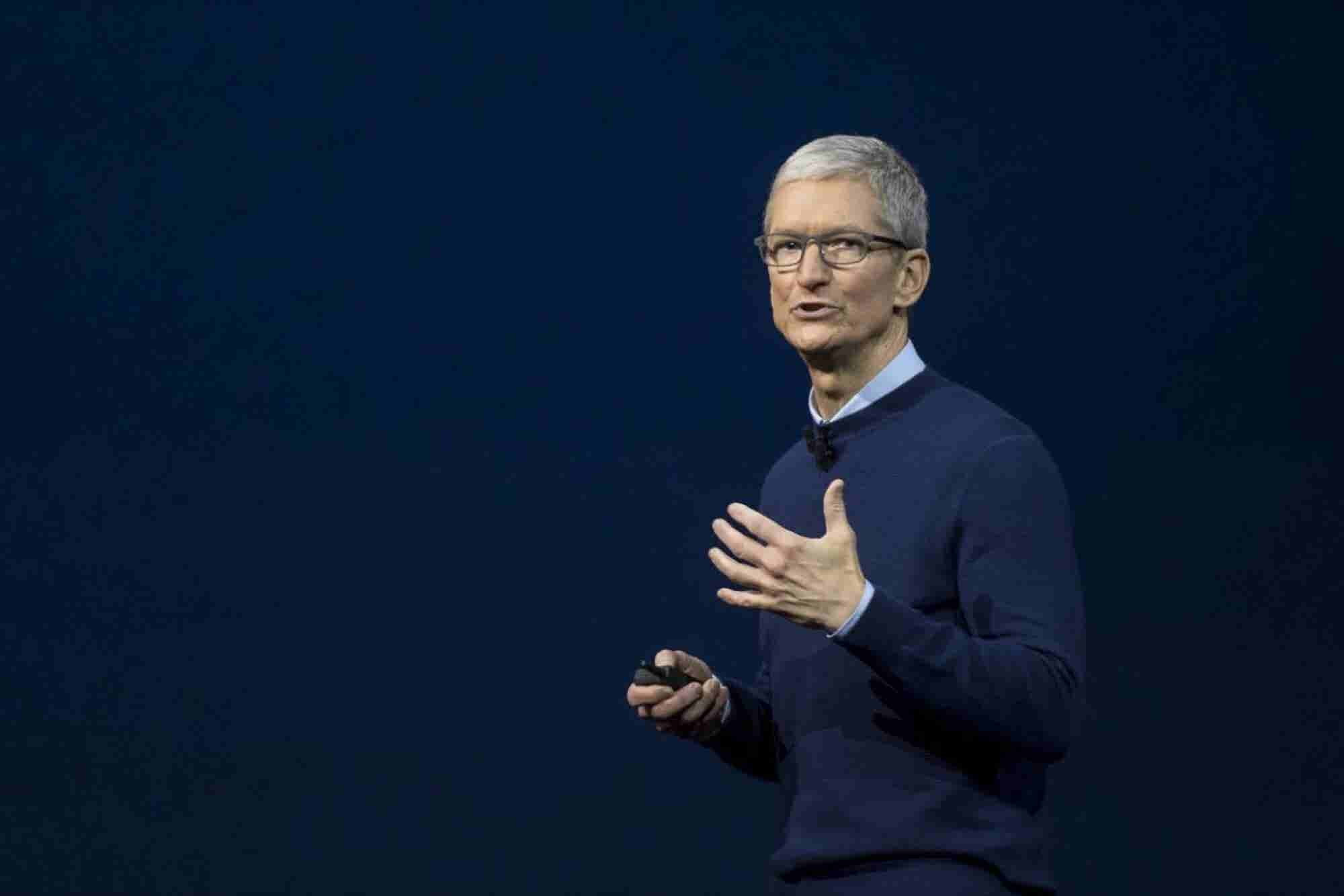 'Hate Is a Cancer,' Apple CEO Writes in Email to Employees