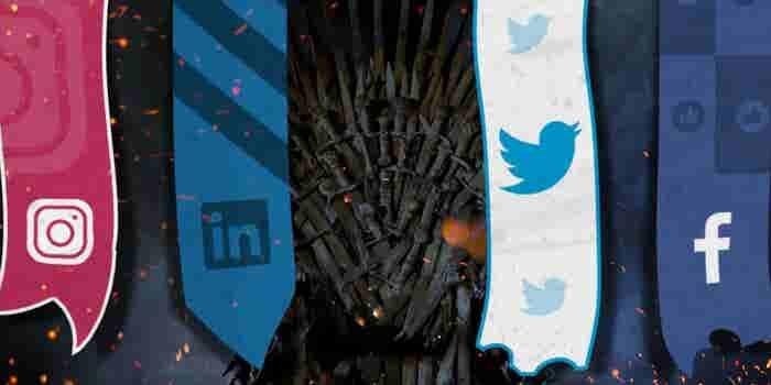 Si los personajes de Game of Thrones fueran una red social