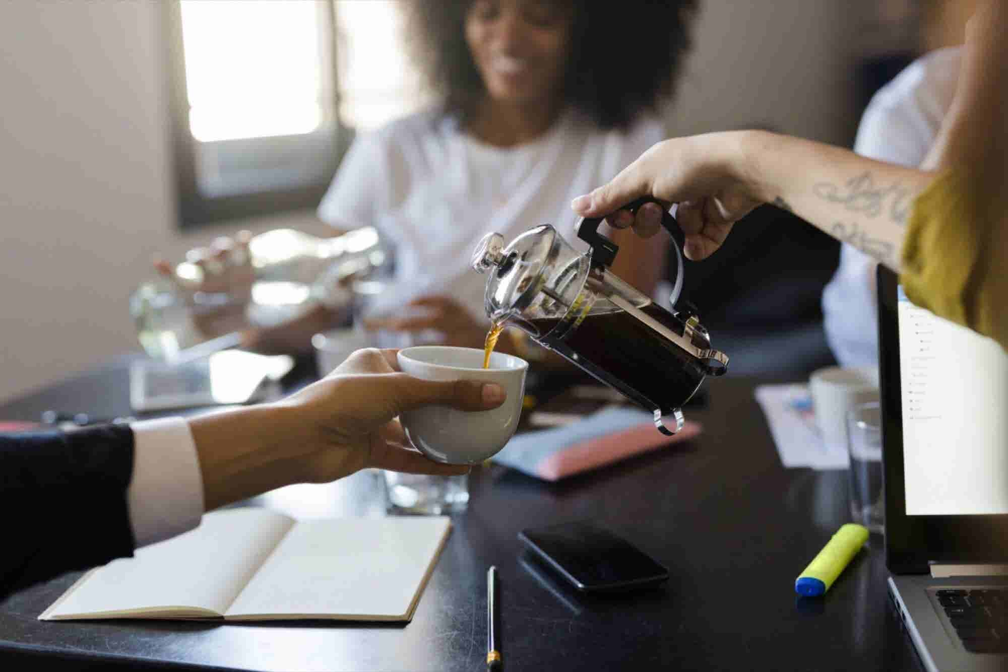 Don't Be Like the Woman Who Poisoned the Office Coffee Pot -- Follow These 10 Steps to Conquer Work Stress