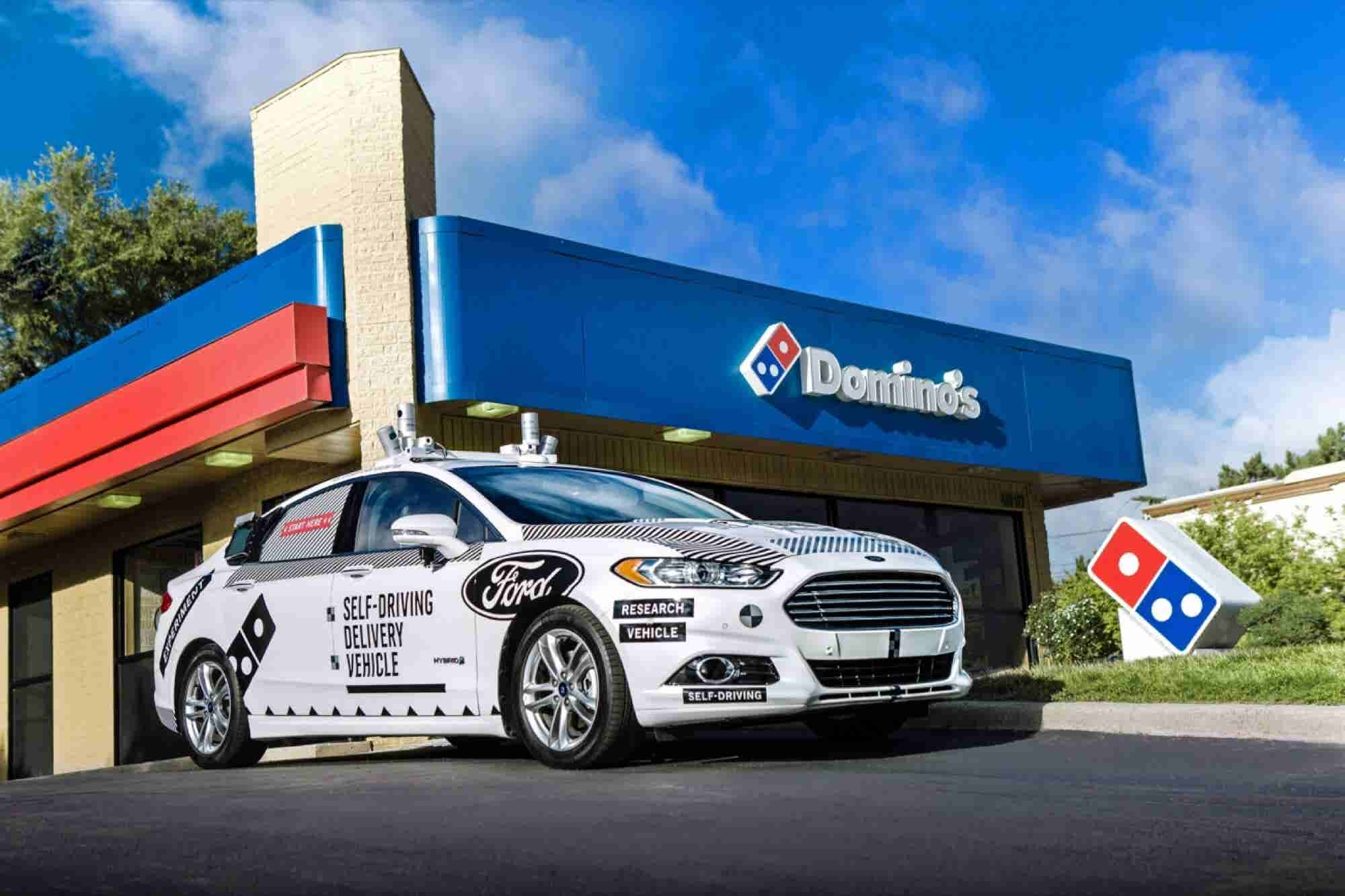 Domino's and Ford Partner Up to Test Self-Driving Delivery Cars
