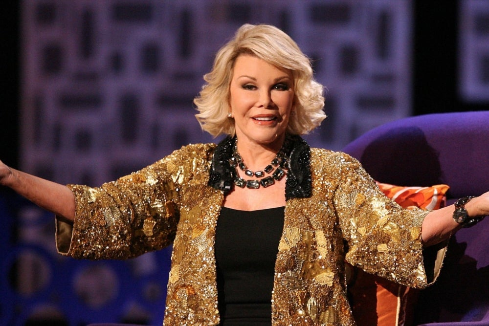Need a Laugh? Here Are 8 Joan Rivers Quotes About Passion, Happiness and Mindset.