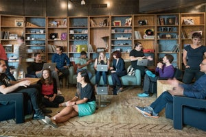 From Cupcakes to a Musical Instrument Room, Step Inside the Dropbox Office