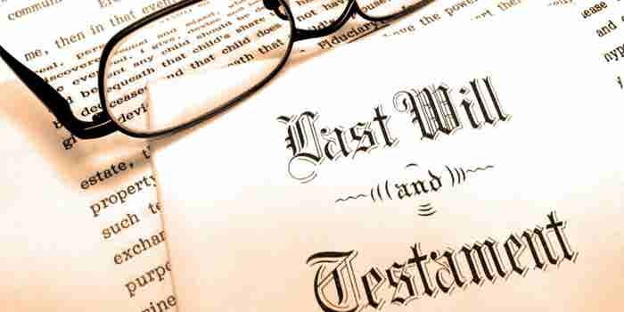 Cómo hacer un testamento