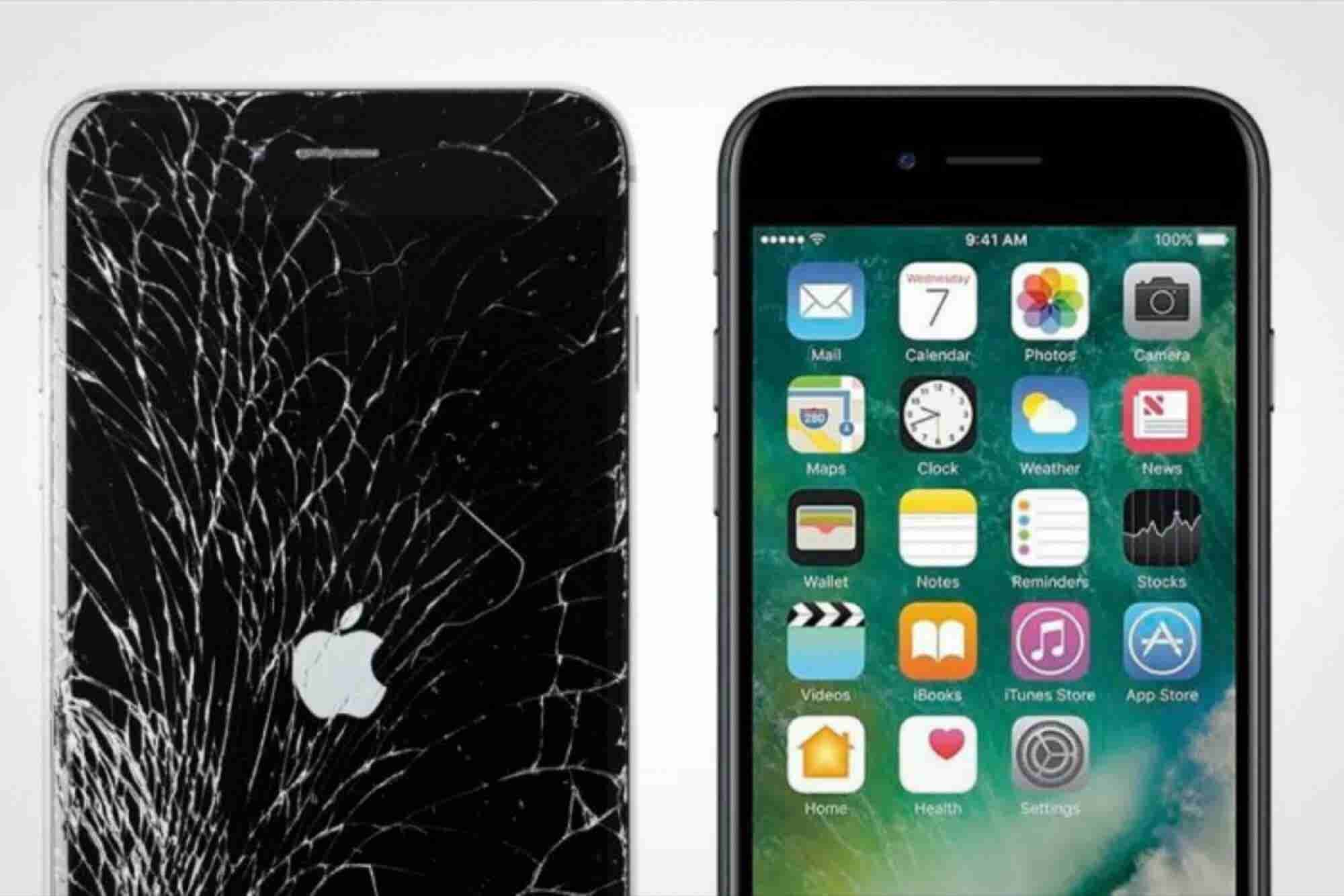 Descubre si Apple reparará tu iPhone dañado o no