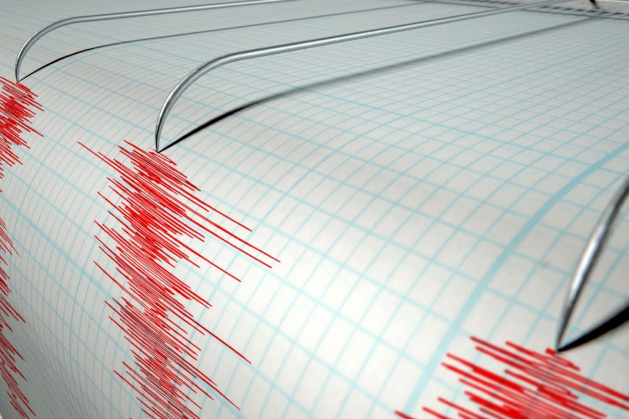 Este sábado en horas de la mañana se registró un sismo de magnitud 3.9 en Margarita
