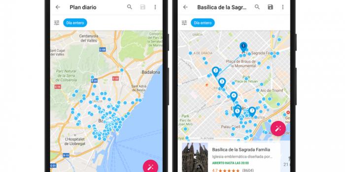 Ya puedes usar Google Trips en español