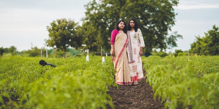 How This Mother-daughter Duo is Reaping the Profits from Organic Farming