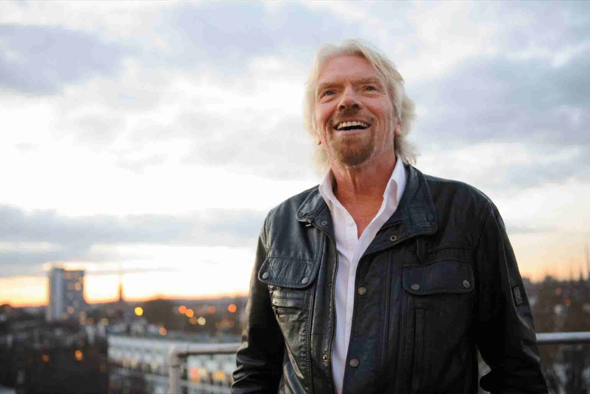 Richard Branson on the Importance of Taking Meaningful Risks