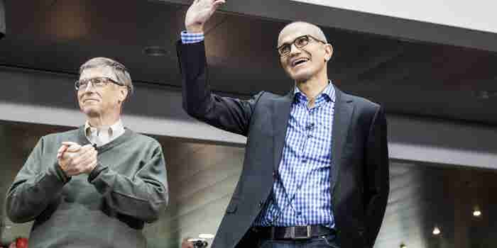 Microsoft CEO: Leaders Must 'Find the Rose Petals in a Field of S#$@'