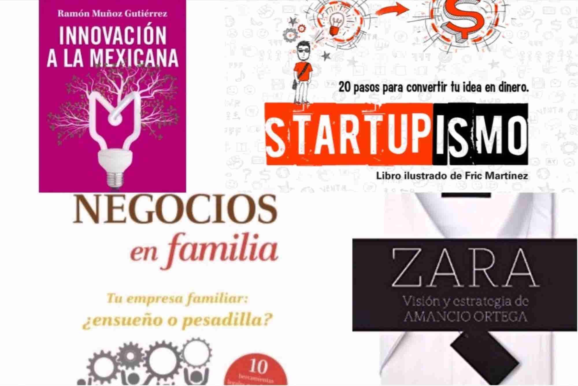 4 libros para emprendedores que debes leer en octubre