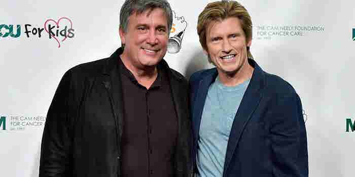 How NHL Legend Cam Neely Teamed Up with Denis Leary to Kick Cancer's Ass
