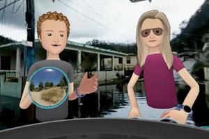 Mark Zuckerberg Visits Puerto Rico in VR