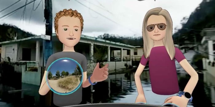 Mark Zuckerberg visita Puerto Rico en realidad virtual