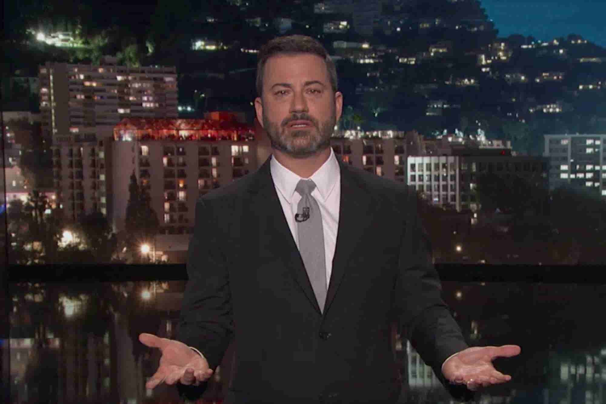 Jimmy Kimmel Struck Back at a Detractor on Social Media -- Should You?