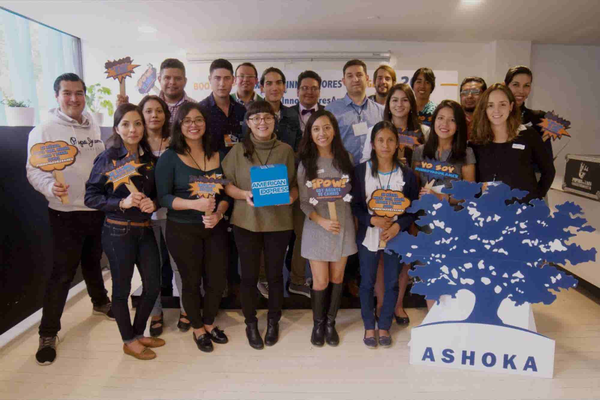 Ashoka y American Express impulsan a emprendedores agentes del cambio...