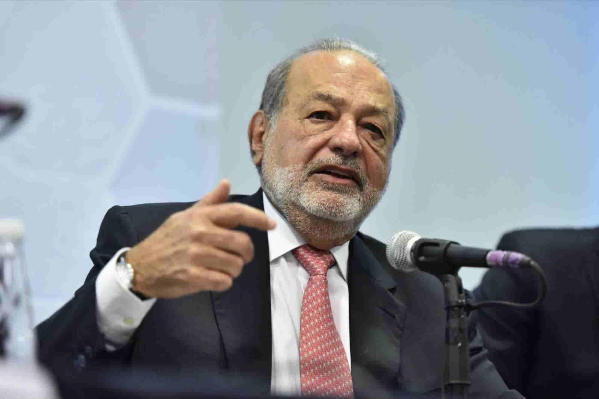 Carlos Slim apoyará la reconstrucción de México con 5 puntos