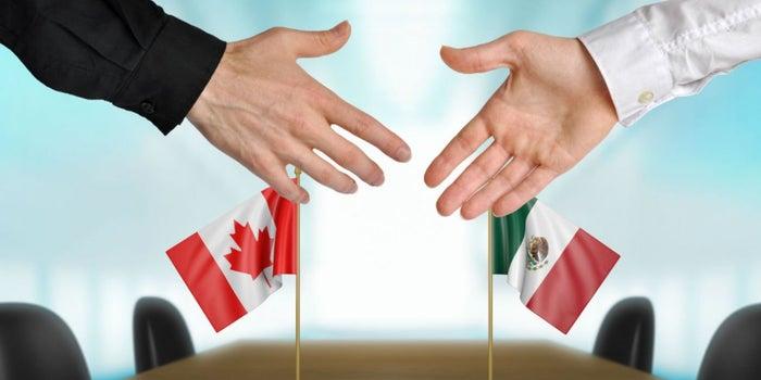 Por qué Canadá y México 'coquetean', pero no se comprometen