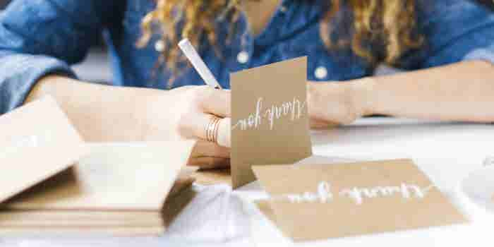 Why Writing a Thank-You Note Should Be as Automatic as Brushing Your Teeth