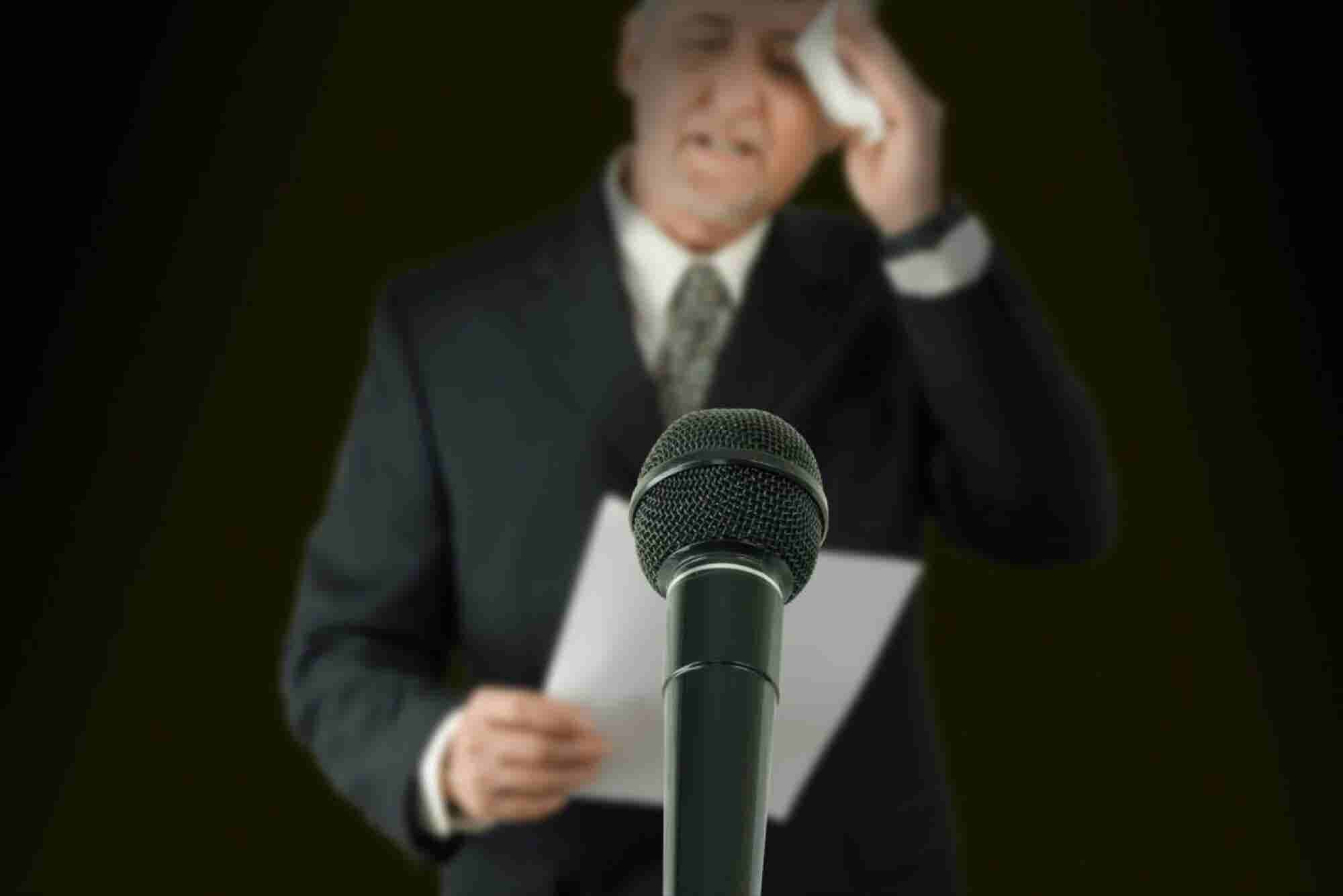 Overcoming Stage Fright: Three Steps To Become A Better Speaker On Stage