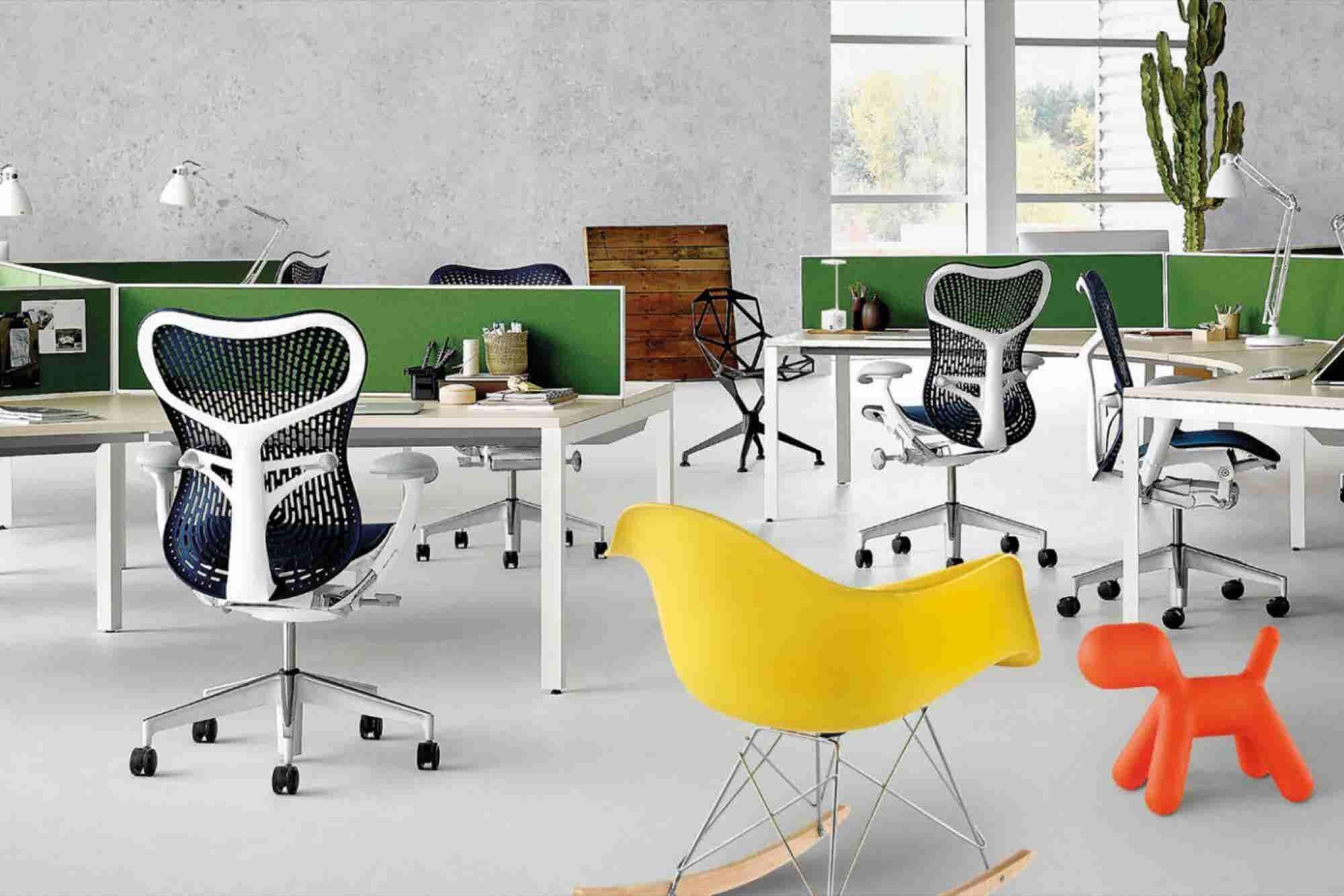 Los muebles de Herman Miller para tu empresa