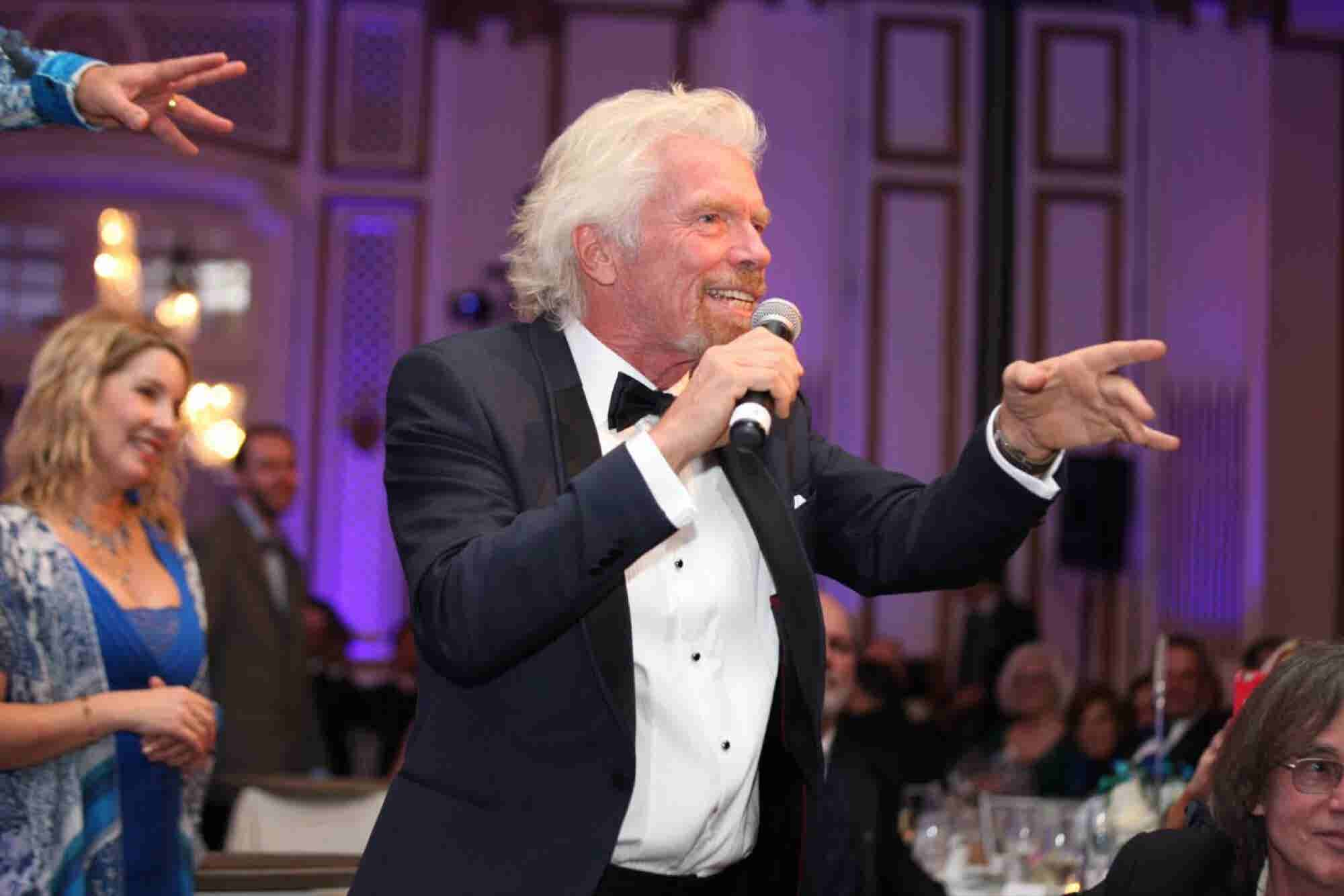 Richard Branson Explains Why He's Different From Elon Musk, and What He Looks For When Investing in Startups
