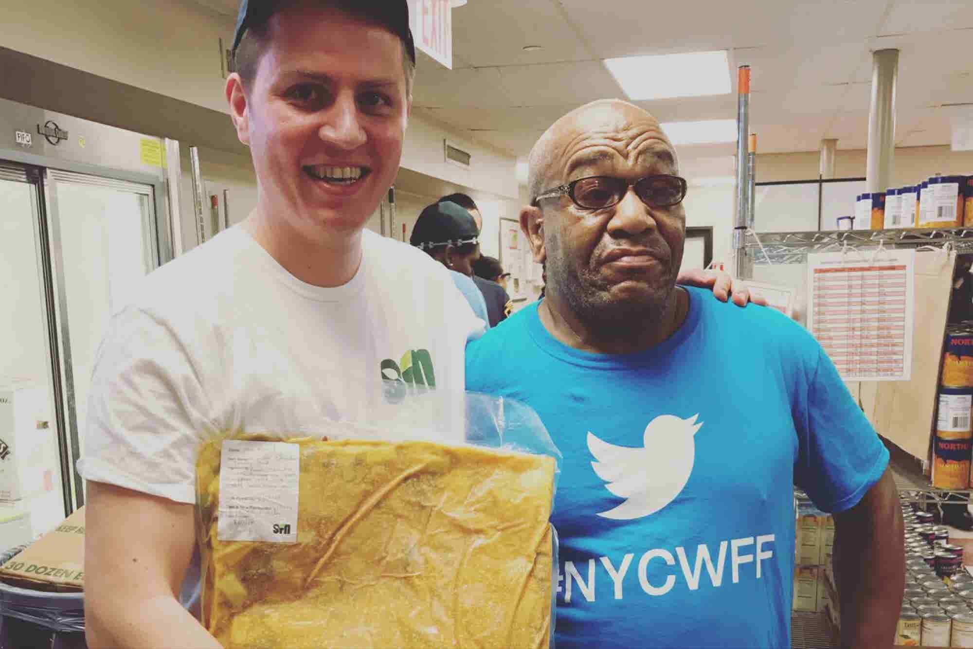 Win-Win: This Founder Is Using Extra Restaurant Food to Feed the Needy...