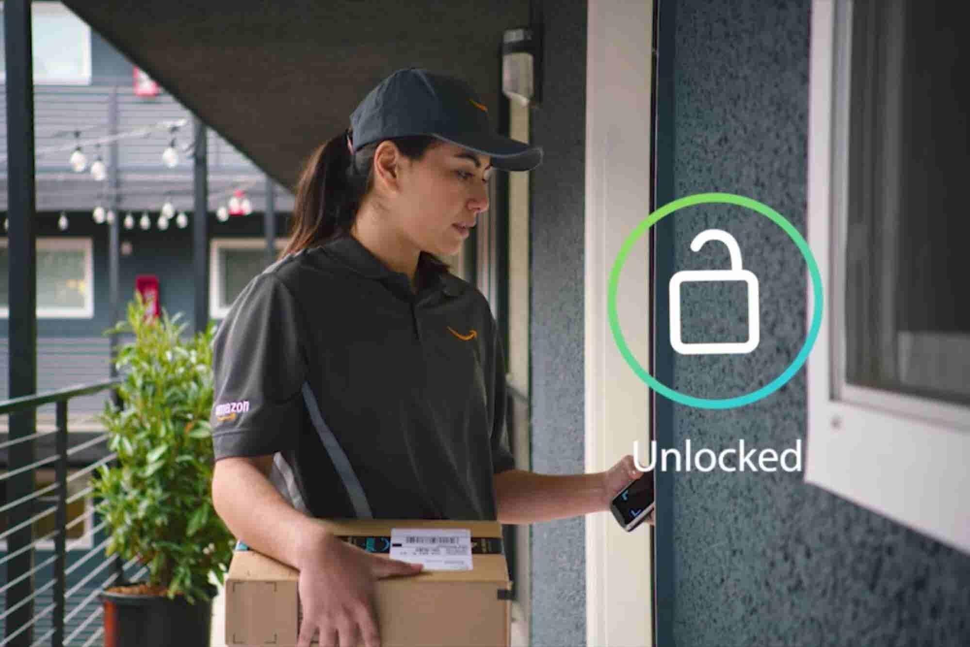 Amazon Key Opens Your Home for Indoor Deliveries