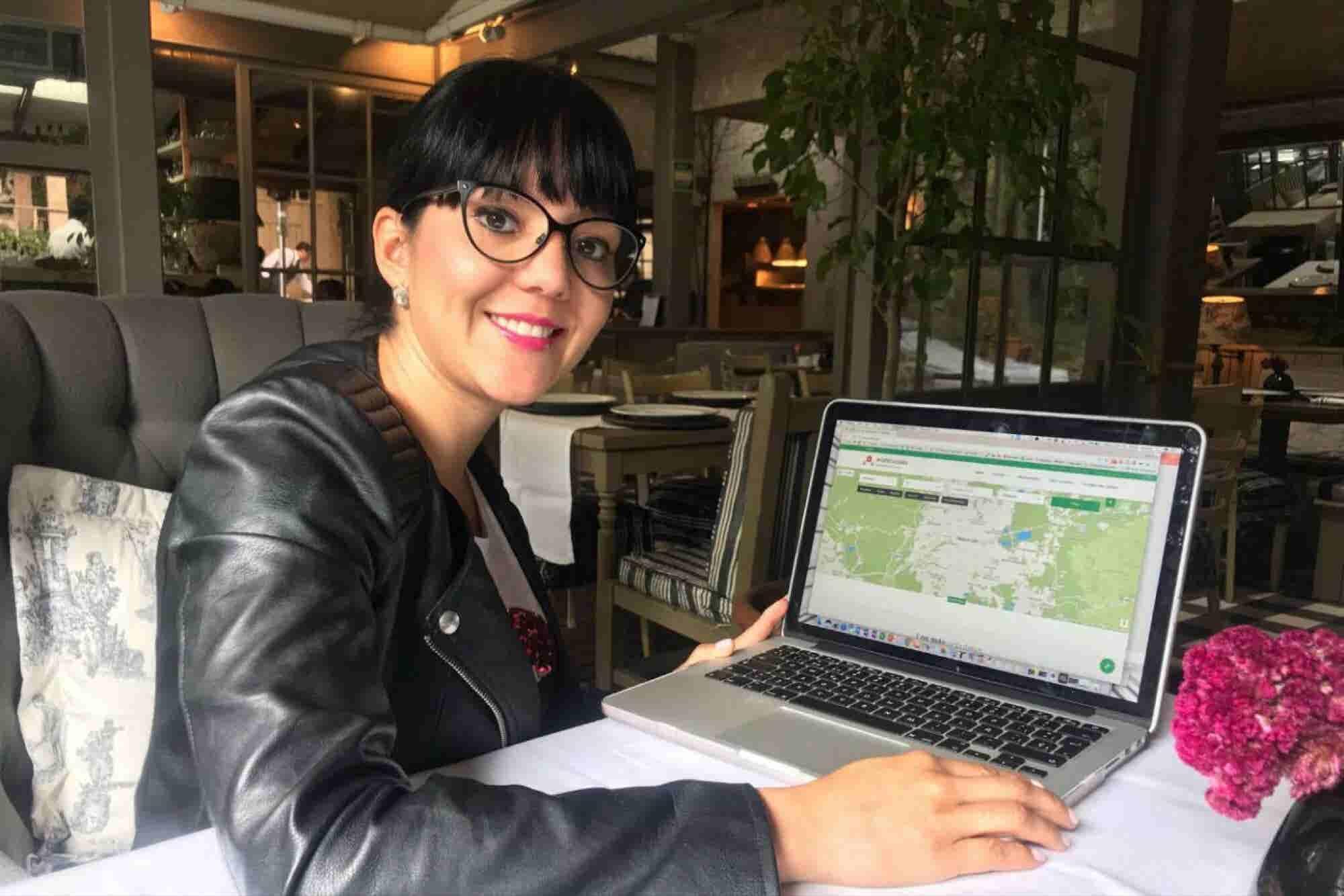 La heroína que busca trabajo para los damnificados del sismo 19S