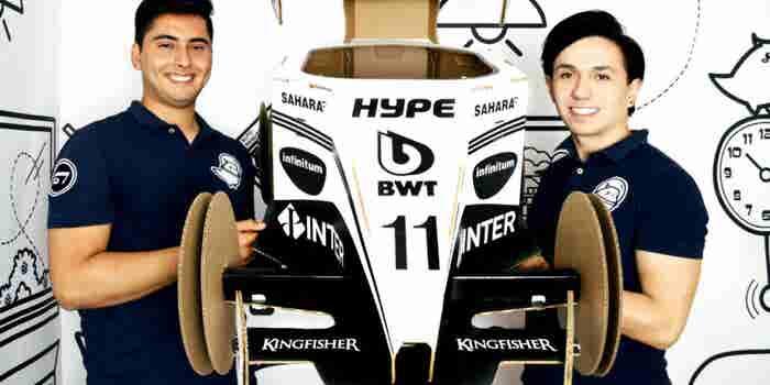 Los emprendedores que tienen el juguete perfecto para la Fórmula 1