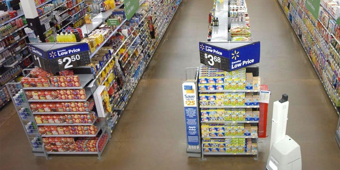 Walmart Will Soon Have Robots Roaming the Aisles in 50 Stores