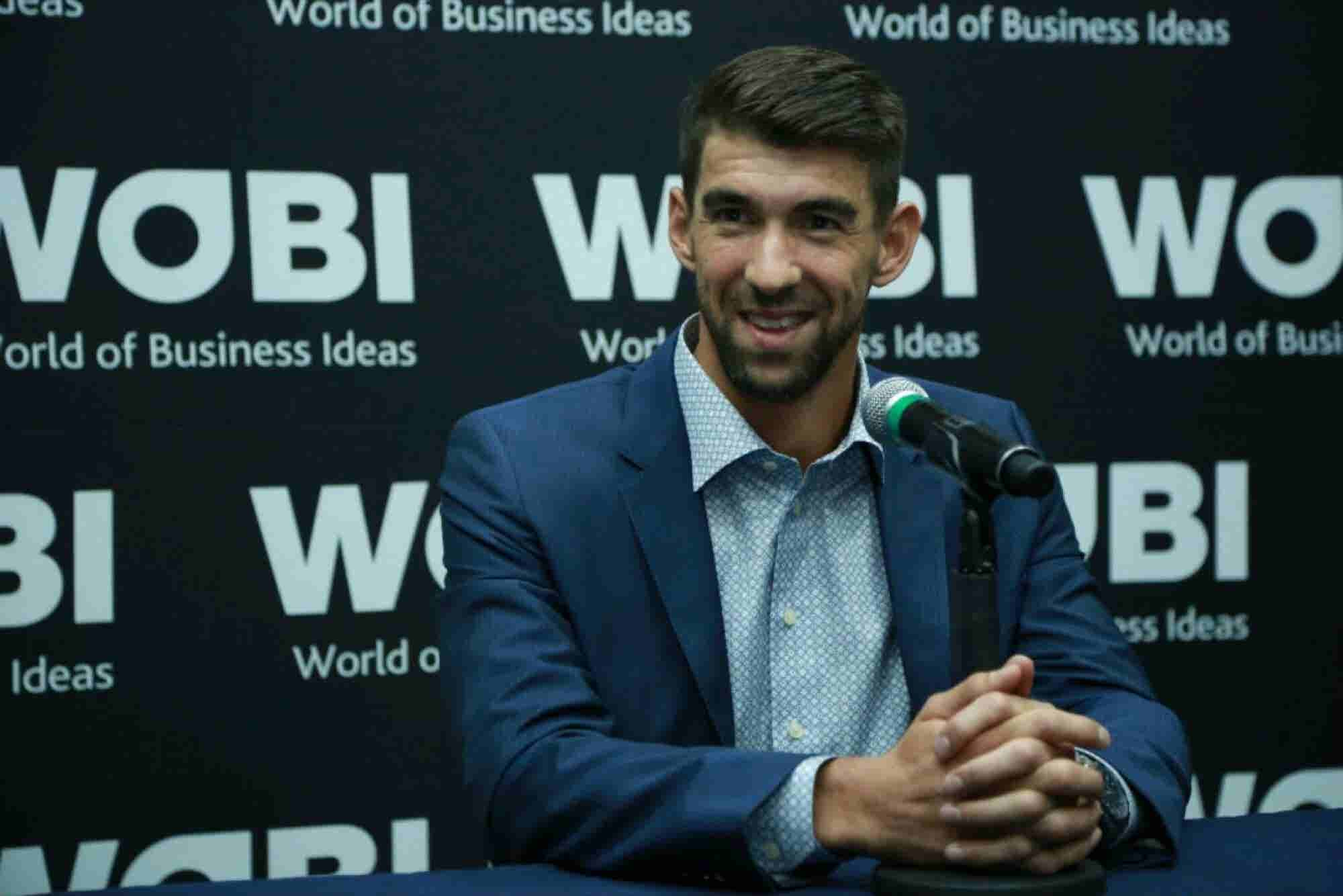Las 10 frases de Michael Phelps en México sobre trabajo y fracaso