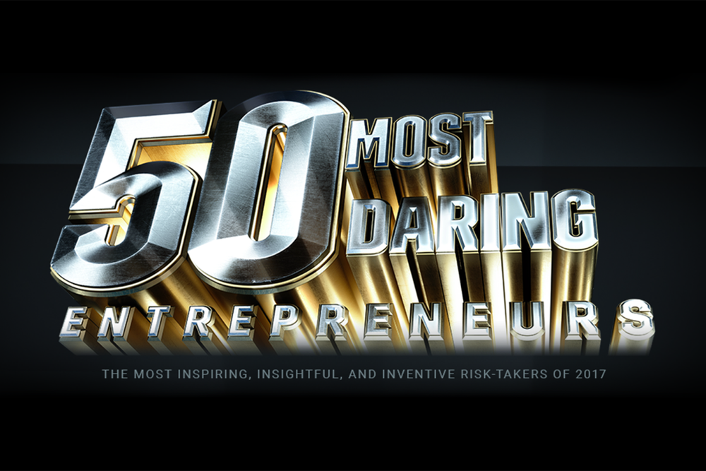 50 Most Daring Entrepreneurs