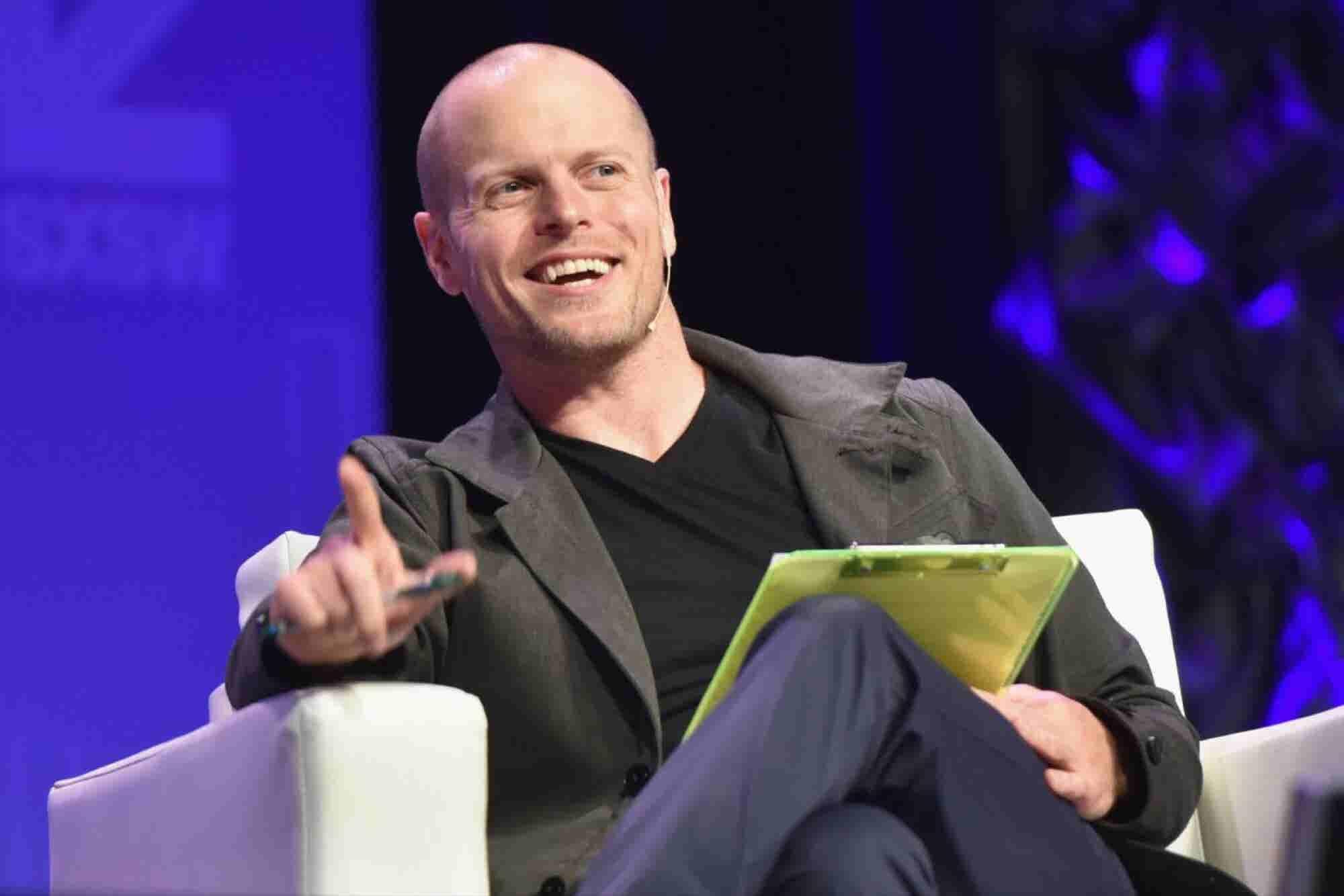 10 Books Tim Ferriss Thinks Every Entrepreneur Should Read