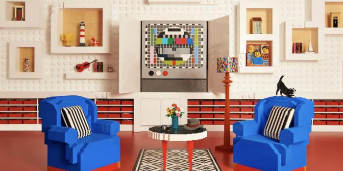 ¡Hospédate con tu familia en una casa hecha de legos!