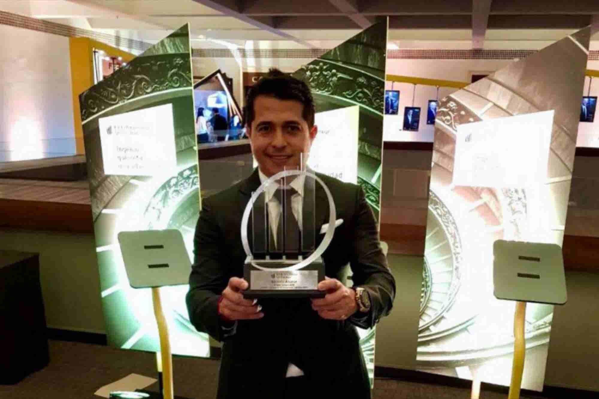 Reconocen al CEO de Sonora Grill como Emprendedor del Año