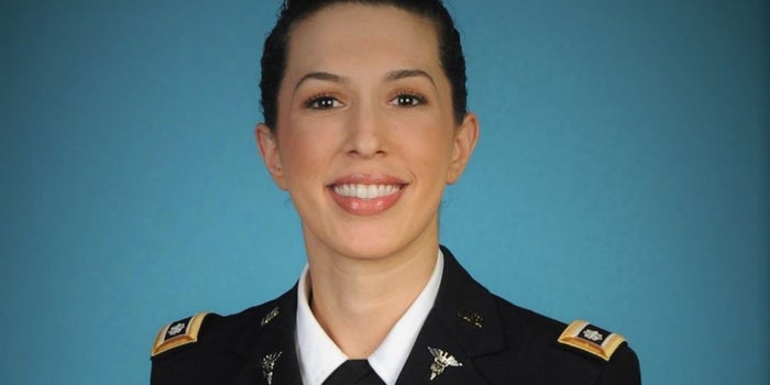 How This Army Lieutenant Colonel Turned Her Personal Battle With Stress Into a Business That Helps Others
