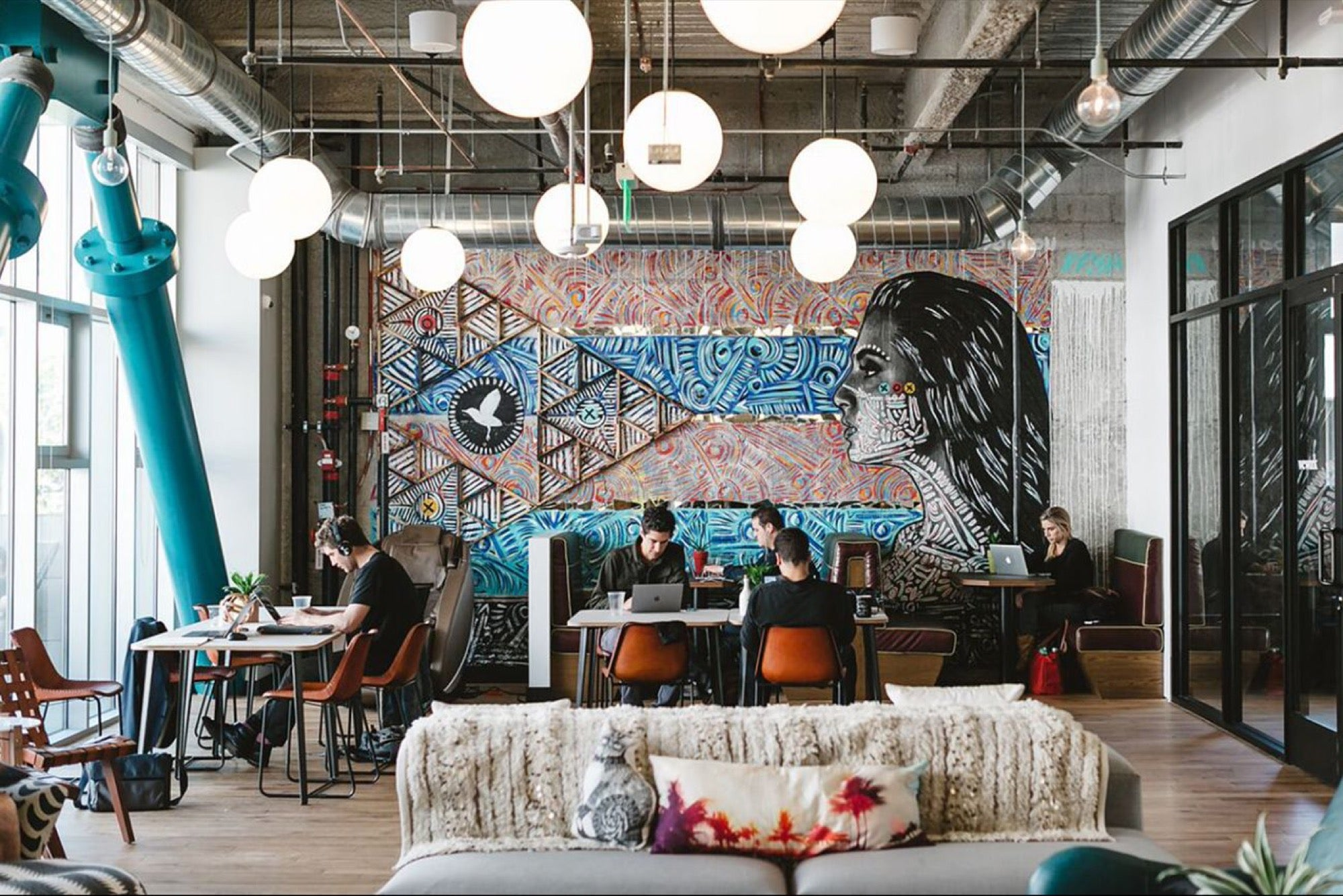 can an all glass fice building really be considered interior designer fees new york 12 Crazy Things You Should Know About WeWork, the Coworking Company Valued  at $20 Billion