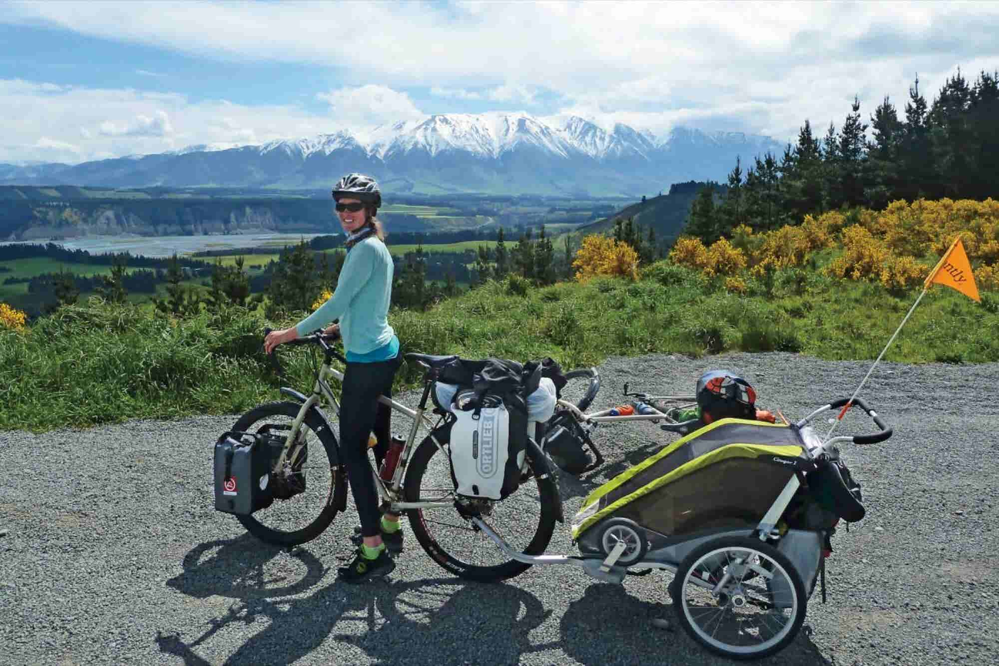 How a Bike Trip Across New Zealand Helped This Entrepreneur Realize Her Dream