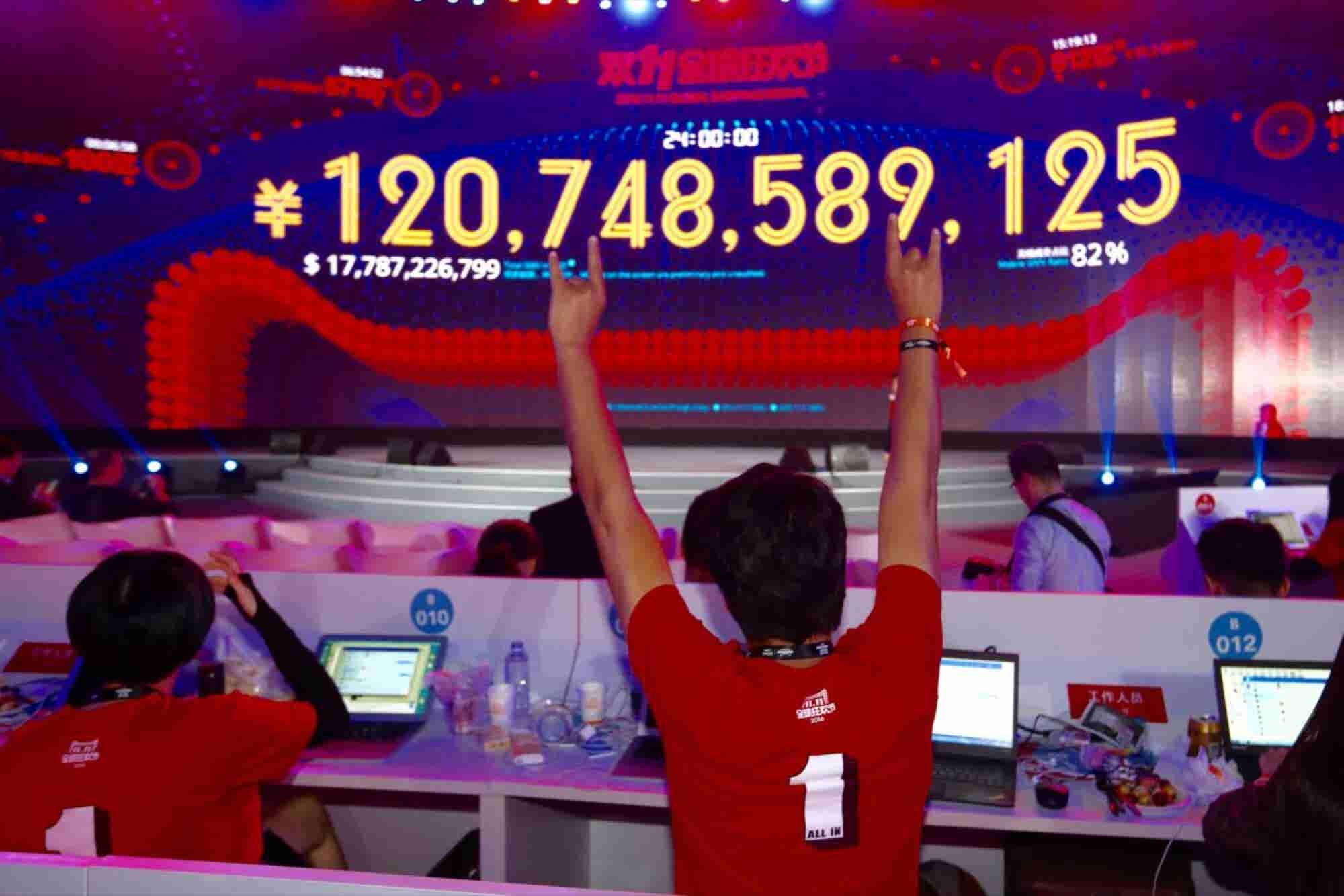 Alibaba's Singles' Day Is a Multi-Billion-Dollar Sales Juggernaut -- and You Could Build Your Own