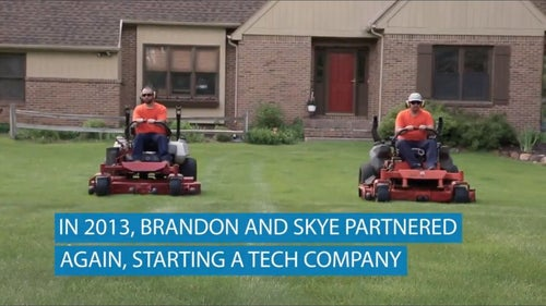 How Two High School Friends Started A Million Dollar Lawn Mowing Business