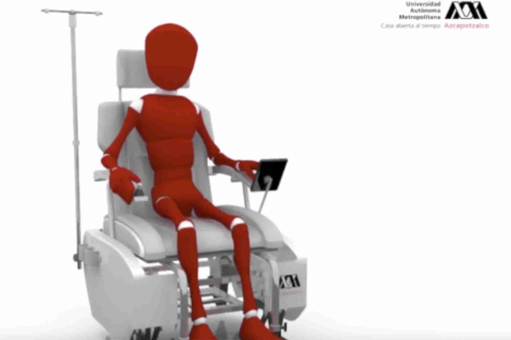 Estudiantes de la UAM crea silla de ruedas todo terreno
