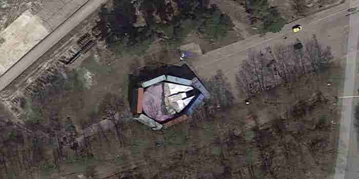 Aunque Disney lo ocultaba, Google Maps se encuentra con el 'Halcón Milenario'