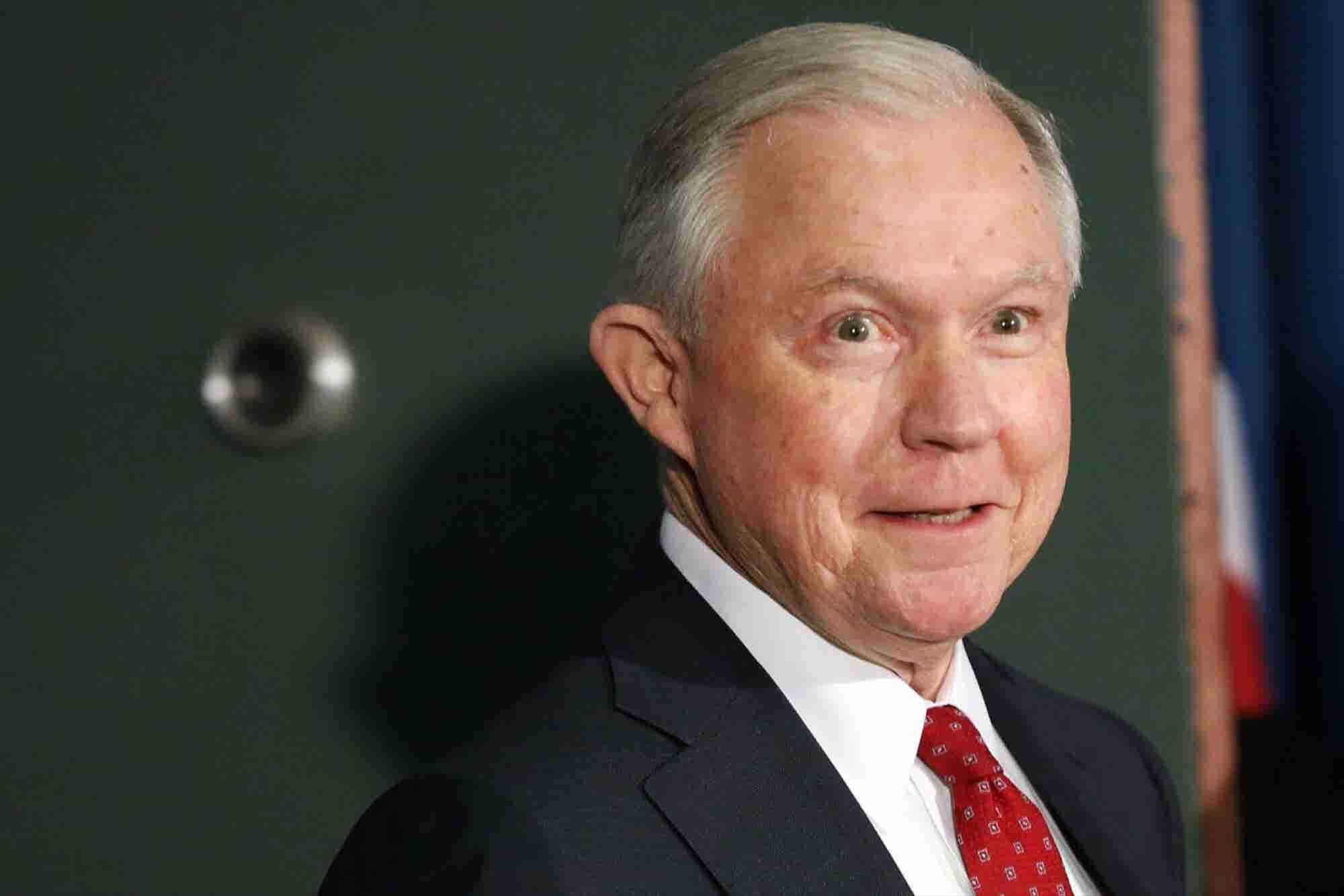 Jeff Sessions' 'Guidance' Cited by Maine's Governor In His Veto of Legal Marijuana Bill