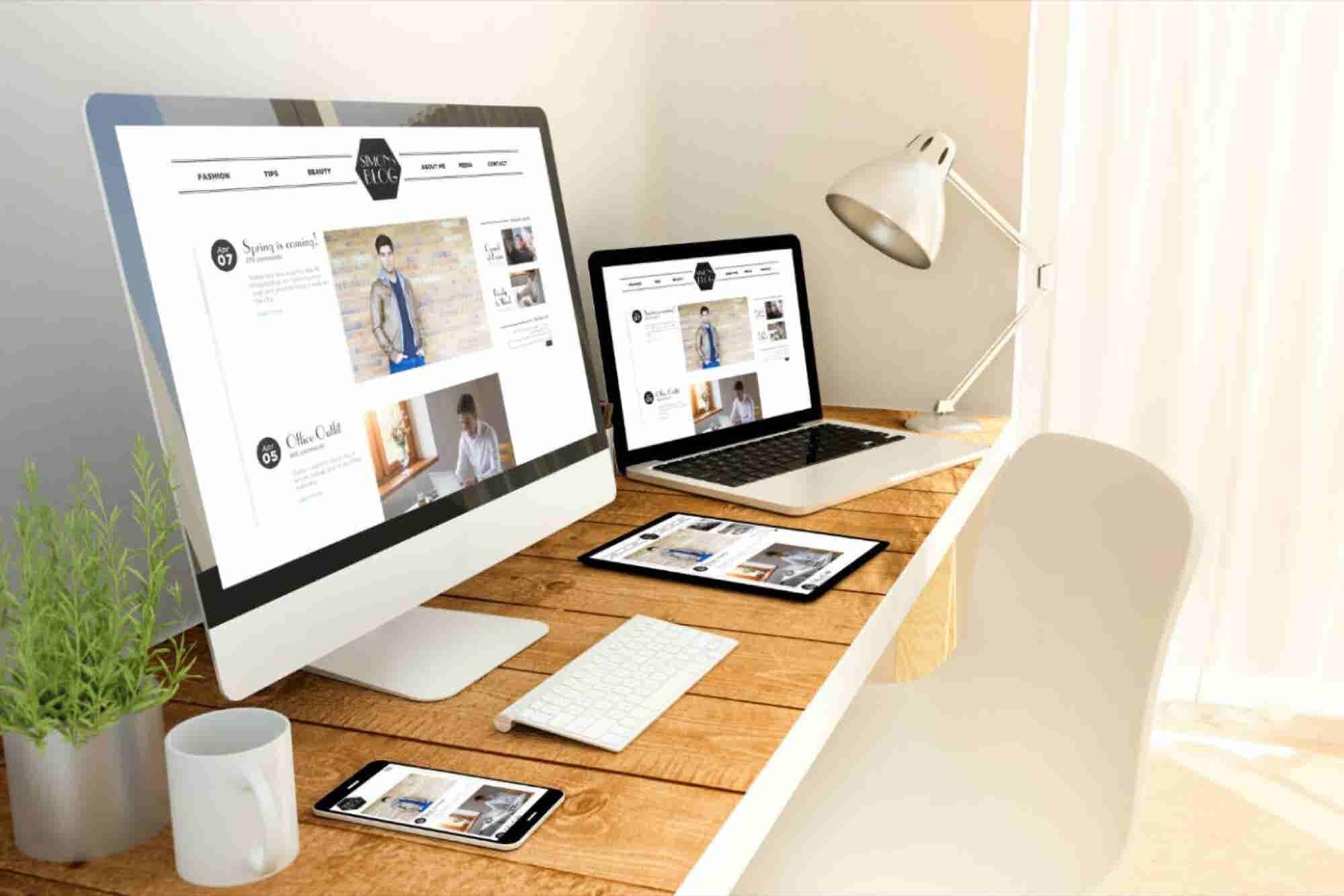 ¿Qué es el espacio en blanco? Sitios web de retail para inspirar tu di...