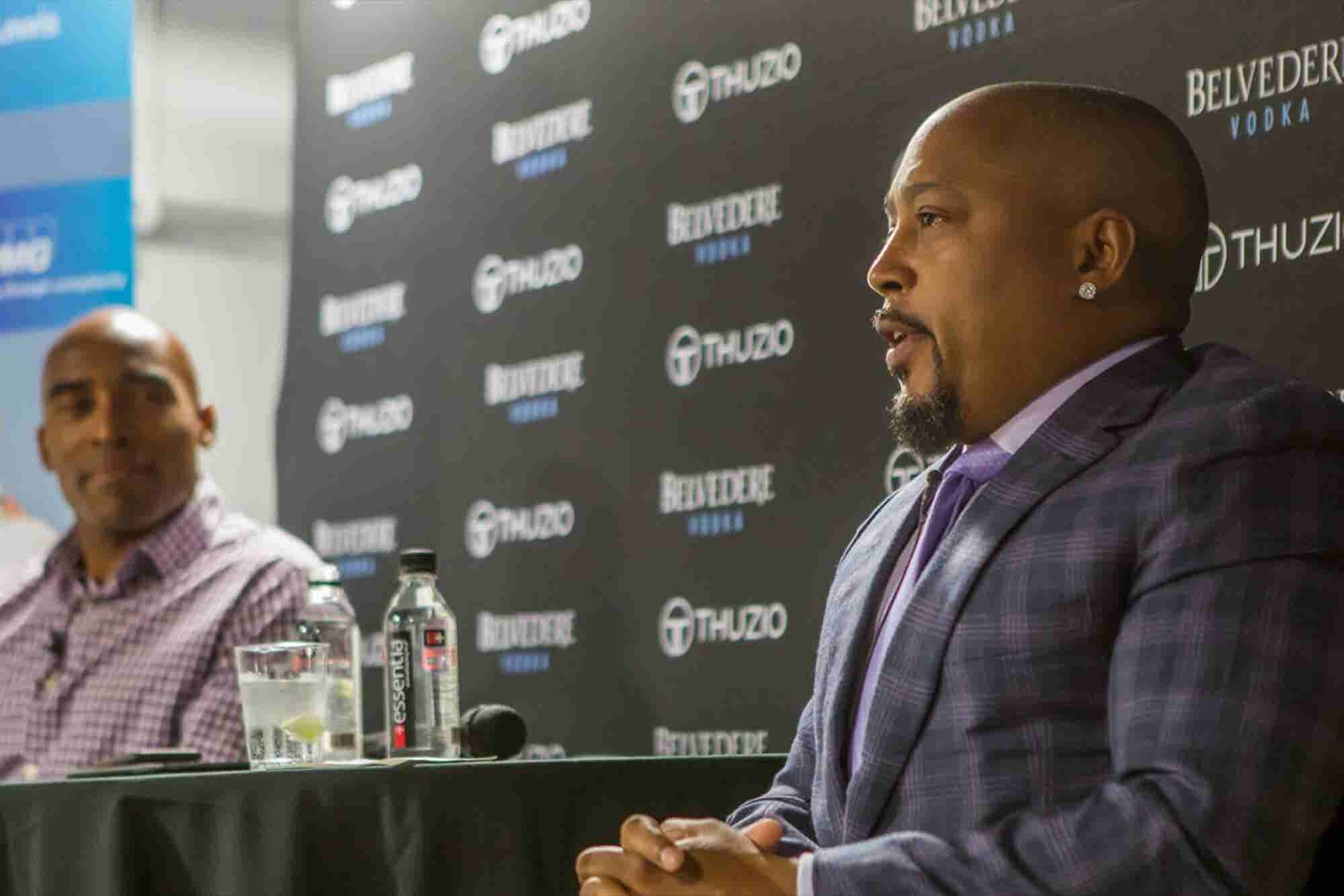 Daymond John's Best, Surprising Advice for Entrepreneurs? Get a 9 to 5 Job.